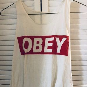 OBEY tank!